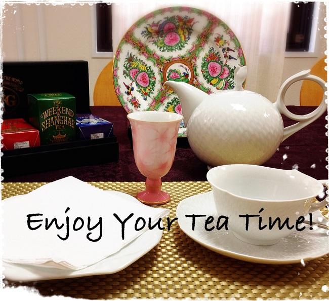 M's tea circle 5月