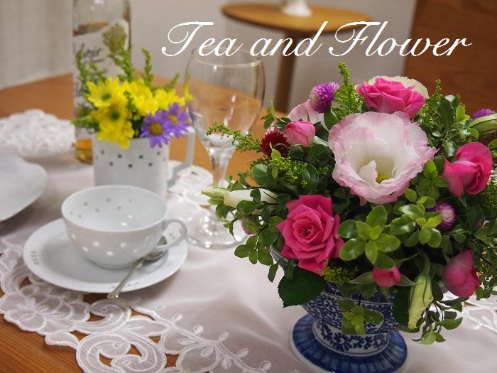 広島テレビ住宅展示場 住宅宣言吉島 紅茶とテーブルフラワーを楽しむ会