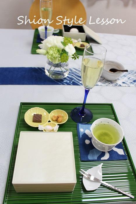新茶を楽しむティーテーブルレッスン