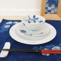 あとりえしおん藍染とうつわの「春咲展」
