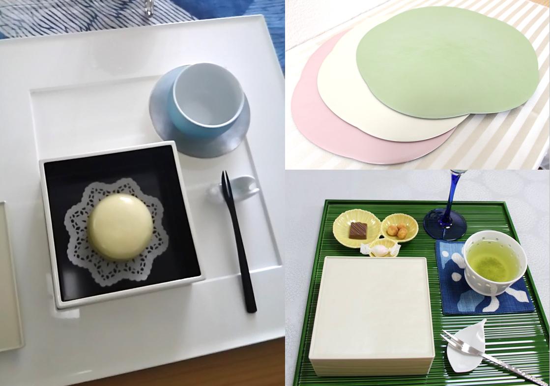 和モダンテーブル「折敷」の使い方レッスン&鹿児島のお茶三昧