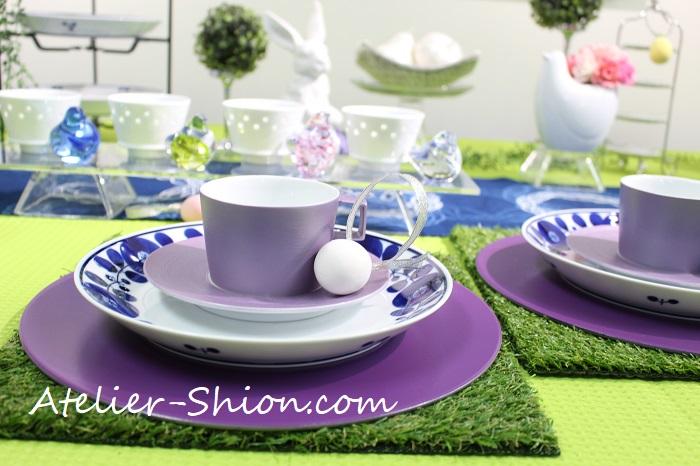 春を楽しむテーブルコーディネート展示