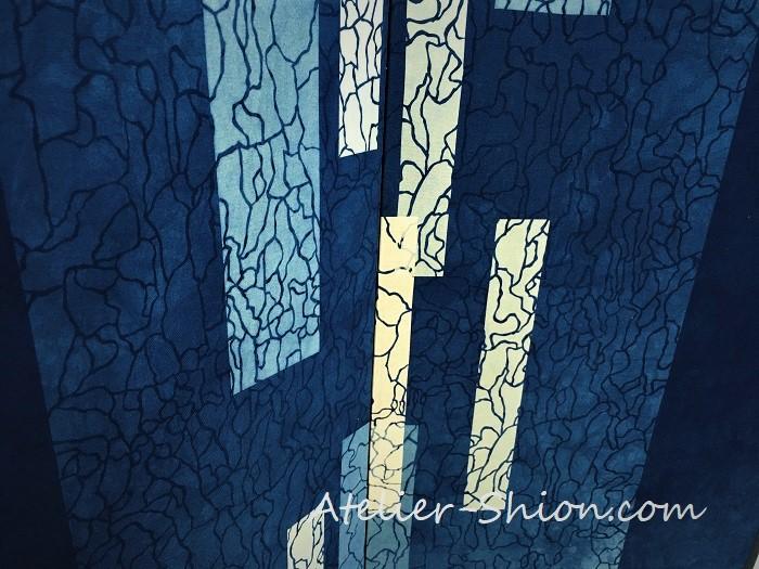 大田耕治藍染作品展「藍で感じる『水』の風景」