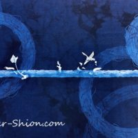 大田耕治藍染作品展示「芽吹き」