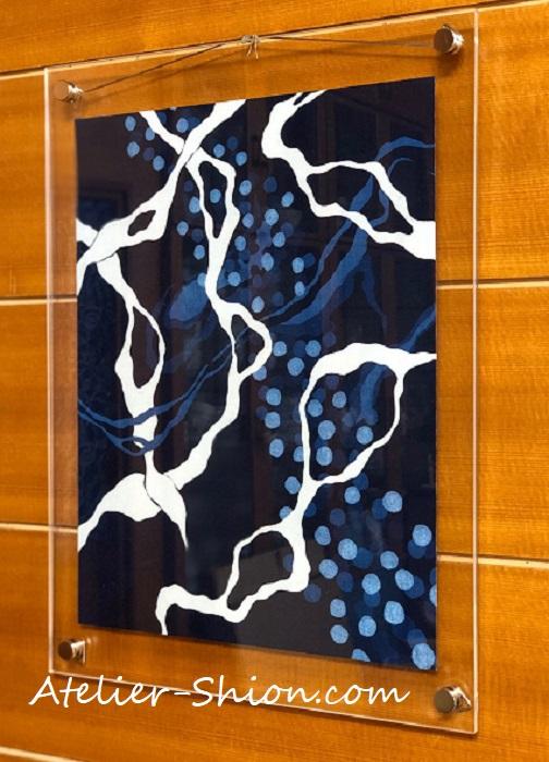 【常設展4月】大田耕治藍染作品展示「ゆらぎ」