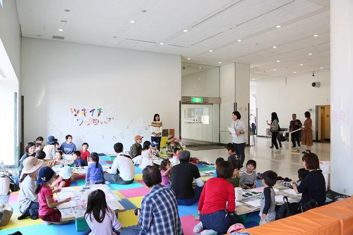 広島現代美術館ツキイチ・ワークショップ