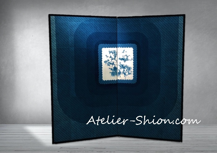 【常設展6月】大田耕治藍染作品展示「見上げれば」