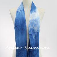 藍染バンブー(竹布)ストール