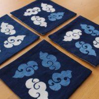 藍染リバーシブルコースター(筋斗雲)