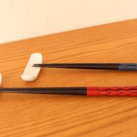 鎌倉彫りの漆箸
