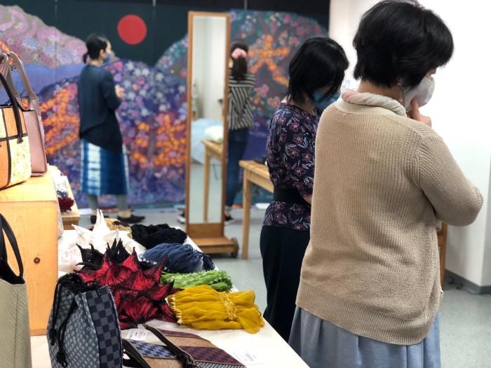 京の絞り職人展@ぎゃらりぃSARA