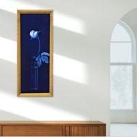 藍染オリジナル額 幻想華「グラスに薔薇」