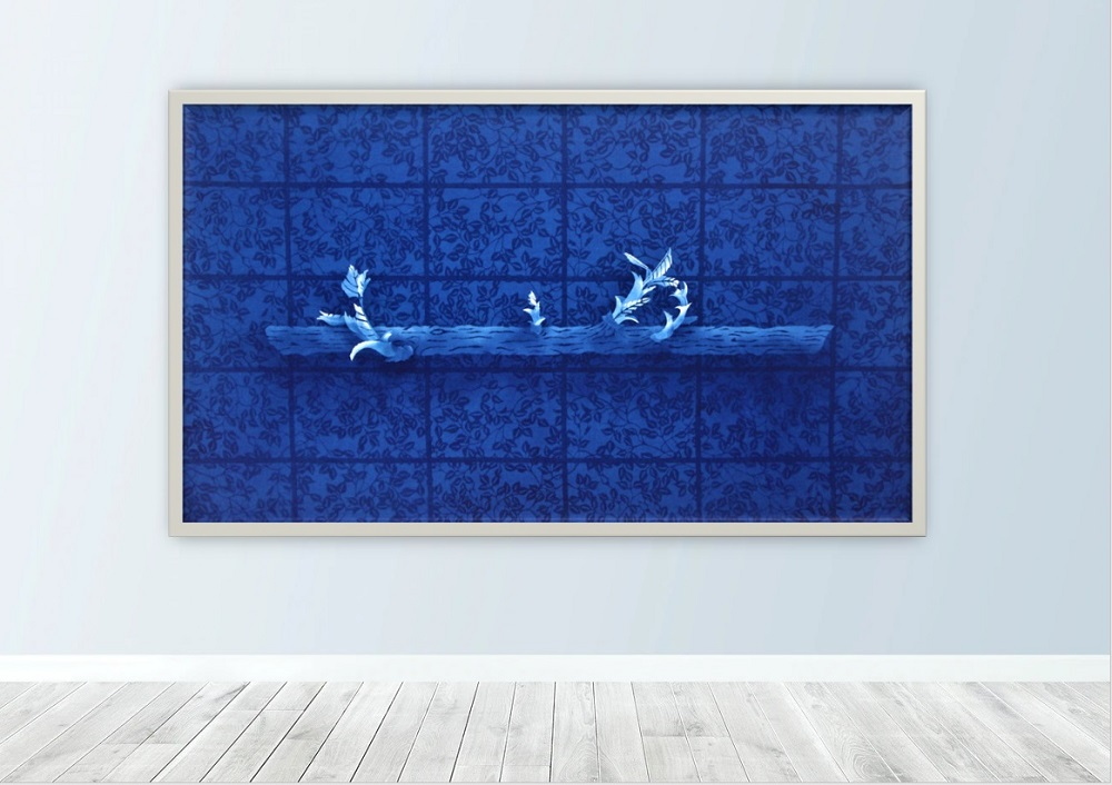 【外部展示9月】藍染による染色工芸作品展@五日市中央公民館