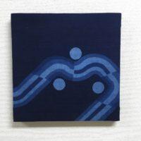 藍染ファブリックパネル「絆1」