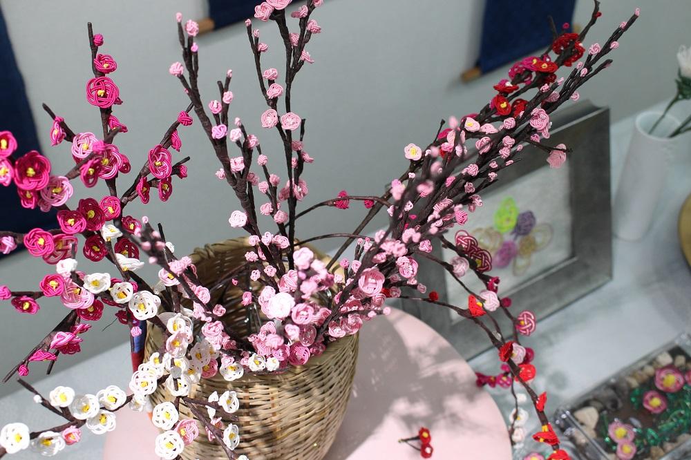 太田順子水引教室 春の文化祭「ときめき」