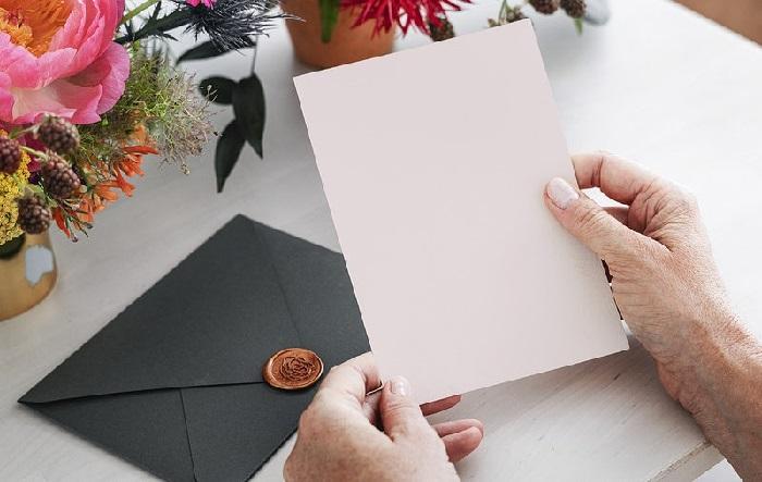 英語で手紙を書いてみましょう!